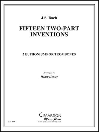 15 Two Part Inventions-Tuba Quartet