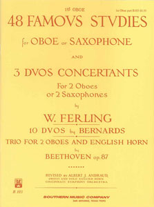 48 Famous Studies woodwind sheet music cover