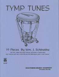 Tymp Tunes percussion sheet music cover