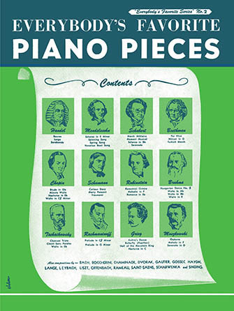 Everybody's Favorite Piano Pieces