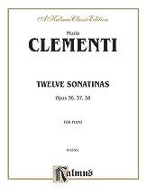 12 Sonatinas Op. 36, 37, 38