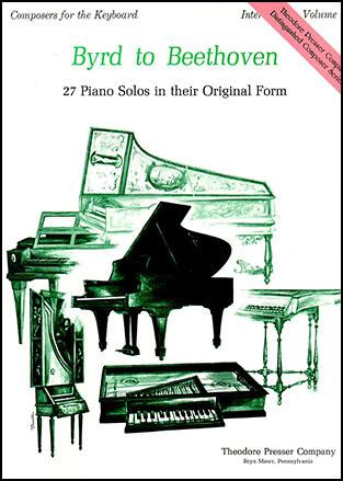 Byrd to Beethoven Intermediate, No  2 ( Misc   J W  Pepper Sheet Music
