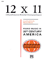 12 by 11-Piano Music of 20th Cent