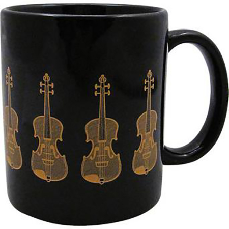 Coffee Mug Black and Gold Series