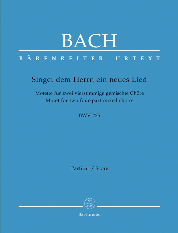 Bach Singet Dem Herrn Ein