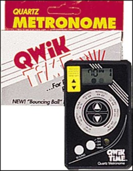 QT-5 Qwik Time Quartz Credit Card Size Metronome