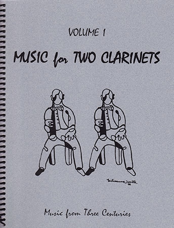 Music for Two Clarinets Vol 1