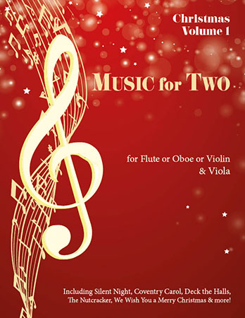 Music for Two Christmas  Cover
