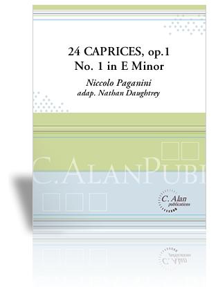 24 Caprices, Op. 1 No. 1 in Eminor