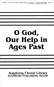GOD OUR HELP IN AGES PAST P.O.P.