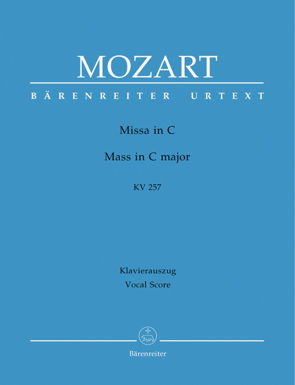 Missa in C K. 257