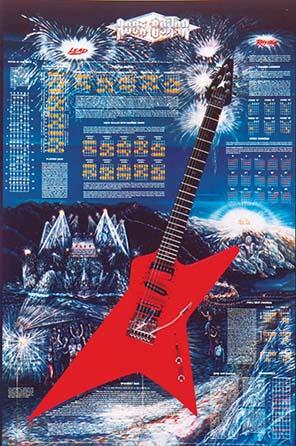ROCK GUITAR LAMINATED - (24