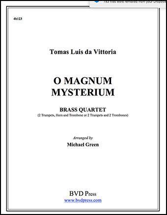Magnum Mysterium (2 Trumpets