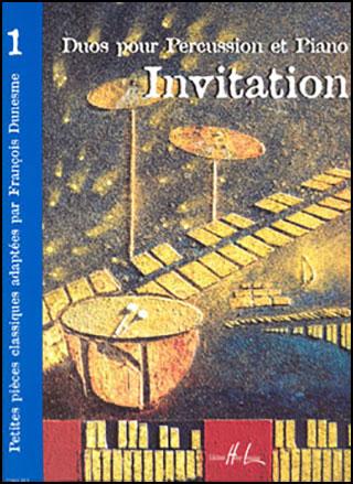 INVITATION VOL 1-PERCUSSION SOLO