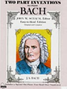 BACH TWO PART INVENTIONS