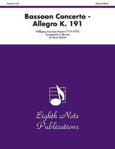 ALLEGRO CONCERTO IN B FLAT K19