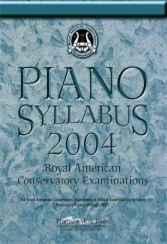 Piano Syllabus 2004