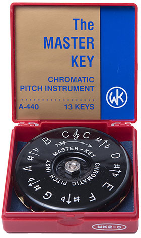 Kratt Master Key Pitch Pipes