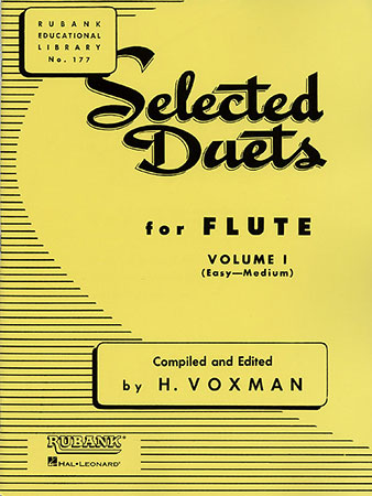 Selected Duets for Flute, Vol. 1