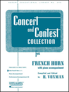 Concert and Contest Collection for French Horn