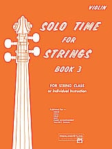 Solo Time for Strings, Book 3