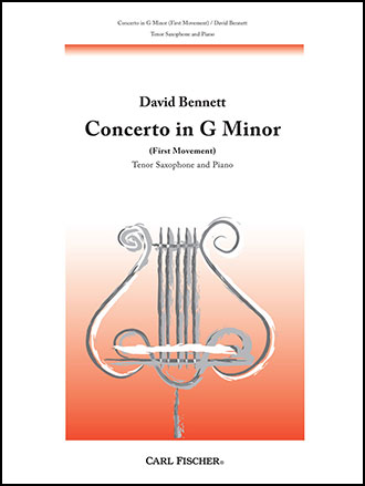concerto in g minor first movement for tenor saxophone and piano