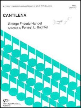 Cantilena for Cornet, Trumpet or Baritone T.C.