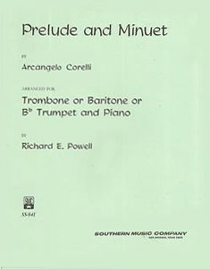 Prelude and Minuet for Trombone or Trumpet