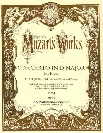 Concerto in D Major, K. 314