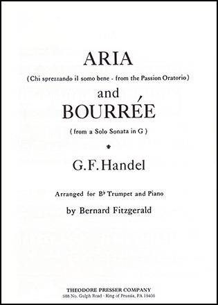Aria and Bourree