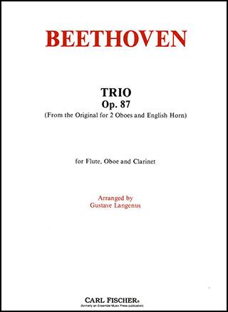 Trio, Op. 87