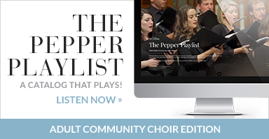 Choral Music for Community & Collegiate Choirs | J W Pepper