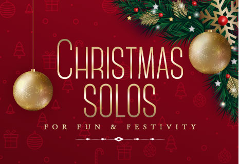 Shop Christmas solos and ensembles for fun and festivity.