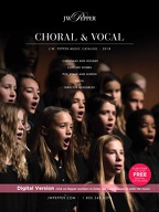 2018 Fall Choral and Vocal Catalog