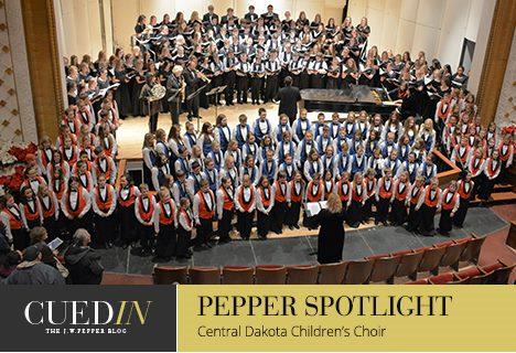 CuedIn: The J. W. Pepper blog. Pepper spotlight on the Central Dakota Children's Choir.