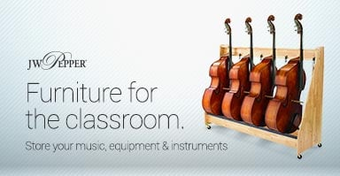 Shop furniture fo the music classroom. Store your music, equipment and instruments.