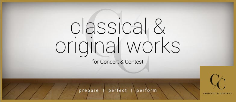 Shop classical and original orchestral works for concert and contest