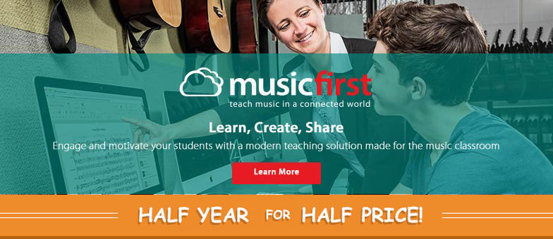 Learn more about MusicFirst and engage your students with a modern teaching solution for the music classroom!