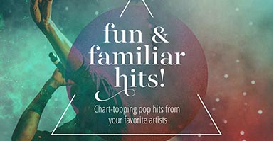 Shop chart-topping pop vocal music from your favorite artists.