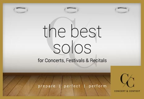 Shop brass solo music for concerts, festivals, and recitals.