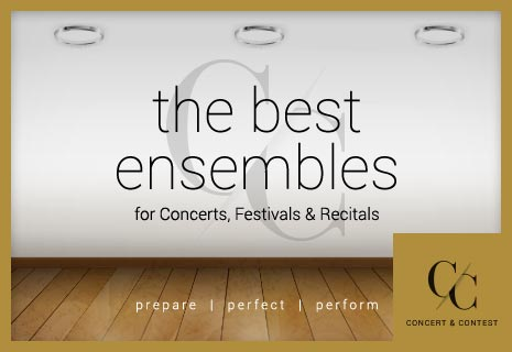 Browse the best percussion music for concerts, festivals, and recitals.