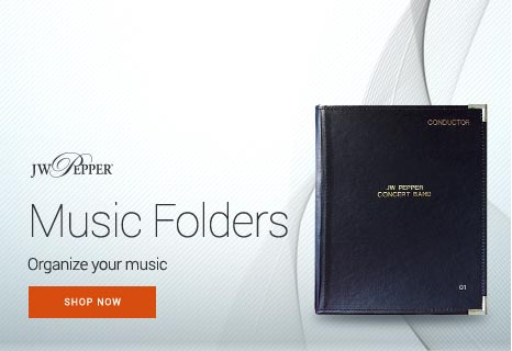 Shop music folders and organize your sheet music.