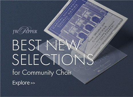 Explore the best new community choir music.