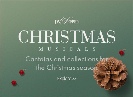 Explore Christmas musicals, cantatas and collections.