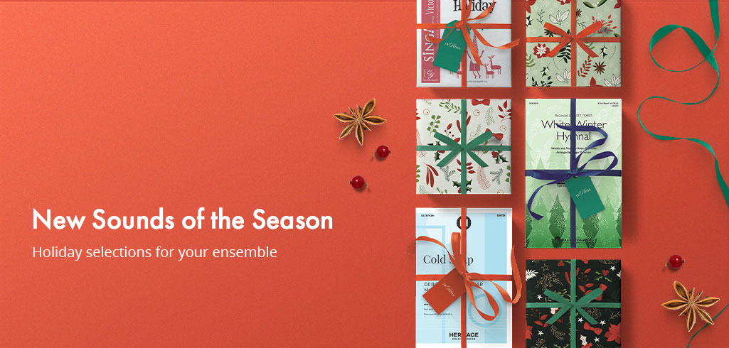 Shop new holiday music for your ensemble.