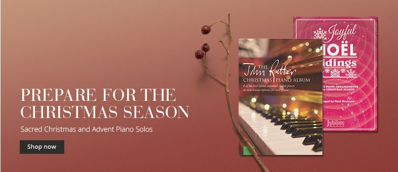 Shop new and best-selling Christmas anthems for piano.