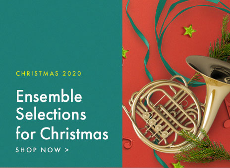 Shop brass ensemble Christmas sheet music. The best pieces for the holiday season.