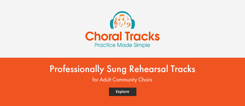 Shop professionally sung rehearsal tracks for adult community choir.