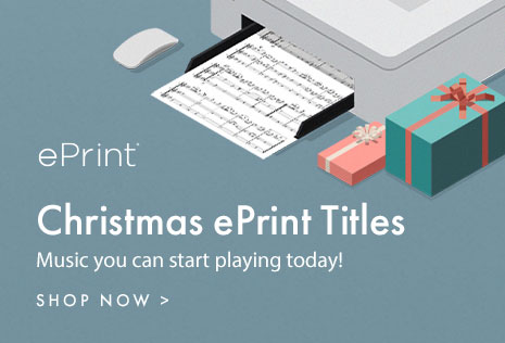 Digital sheet music for Christmas. It's not too late, add to your holiday concert!