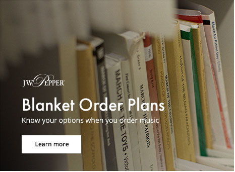 Learn more about library blanket order plans.
